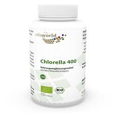 Vita World Bio - Chlorella vulgaris  500 comprimés  Caroténoïdes Chlorophylle