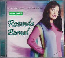 Rozenda Bernal Voy A Comerte El Corazon A Besos CD New Nuevo sealed