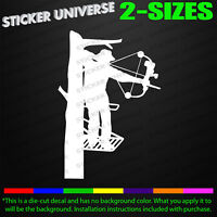Bow Hunting Life At Full Draw Hunting Vinyl Sticker Decal Car-Truck Laptop 1581
