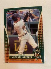 Michael Gretler 2019 Greensboro Grasshoppers Team Card