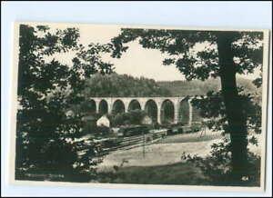 Y15123/ Hetzdorfer Brücken  Eisenbahn Foto AK ca.1935