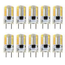 10pcs G8 LED Light Bulb Lamp T5 64 3014 Kitchen Cabinet Lighting Warm White 120V