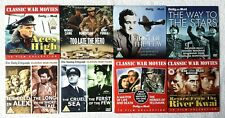 Aces High + Too Late The Hero + First Of The Few + War Movies