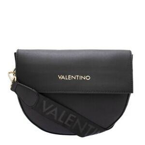 VALENTINO BAGS BIGS LADIES CROSS BODY SATCHEL BAG - BLACK
