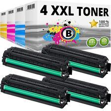 4x XXL TONER für SAMSUNG CLP415 CLP415N CLP415NW CLX4195FN CLX4195FW CLX4195N