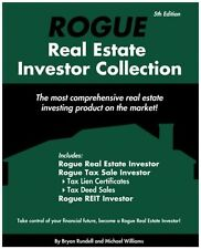 Rogue Real Estate Investor Collection by Rundell + Williams Book + 2 CDs NEW