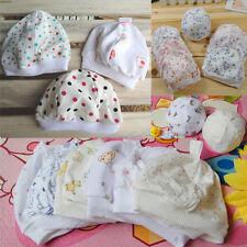 Neugeborene 0-2 Monate Baby Kleinkind Unisex Reine Baumwolle Hut Cartoon Süß