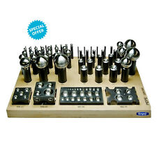 NEW DELUXE 62 Pcs DAPPING FORMING PUNCH & CUTTER SET JEWELRY METAL TOOL PEPETOOL