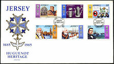 Jersey 1985 Huguenot Heritage FDC First Day Cover #C42265