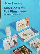 CHEWY.COM PHARMACY 20% OFF COUPON  OFF YOUR FIRST ORDER OVER $49 EX 12/31/20