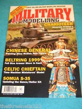 MILITARY MODELLING - CHINESE GENERAL - OCT 8 1999