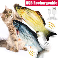 Electric Realistic Interactive Fish Cat Kicker Crazy Dancing Motion Activated