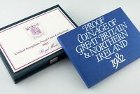 1982 & 1983 Great Britain & Northern Ireland Proof sets