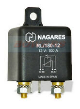 NAGARES RL/180-12 HIGH PERFORMANCE HD NORMALLY OPEN MULTI PURPOSE RELAY 12V 100A