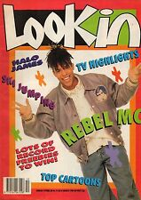 Look-In Magazine 24 March 1990      Rebel MC      Christian James of Halo James