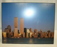 """World Trade Center Picture – Wall Hanging 20"""" x 15-7/8"""" - Used"""