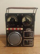 Old Spirit Of St.Louis SOSL Field Transistor AM/FM/LW 3 Band Radio