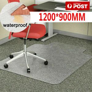 Carpet Floor Office Computer Work Chair Mat Useful Plastic 1200 x 900mm AU Ship