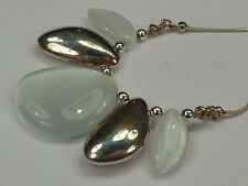 Silver Necklace Vintage Costume Jewellery (1970s)