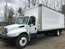 2009 INTERNATIONAL 4300 24 FT. BOX TRUCK WITH POWER LIFT GATE UNDER CDL