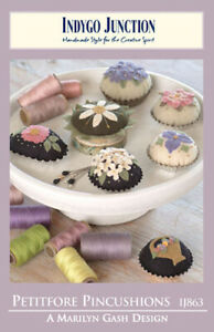📒 Sewing Applique Pattern Petitfore Pincushions
