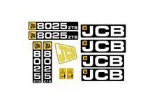 Sticker, aufkleber, decal - JCB 8025 8030 8035 8045 8055 ZTS