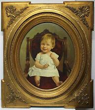 Joukl Hans Hynek Alois 1862-praha 1910 entomologiste here: 1883 Child in a chair