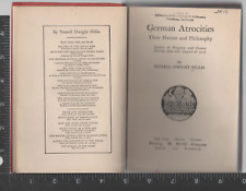 GERMAN ATROCITIES Their Nature and Philosophy Hillis HC ExLib 1918 First ed