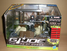 GI Joe Rise of Cobra Outpost Defender boxed ROC 2009 3.75 Walmart Battle Station