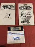 The Worlds Greatest Football Game Apple Ii - 5.25 Media