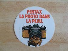 Autocollant / sticker PENTAX, photographie