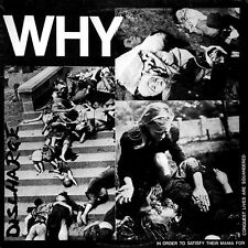 "Discharge – Why 12"" Vinyl Re (2010) Hardcore Punk D Beat"