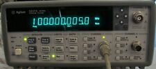 HP AGILENT 53131A 3 GHZ UNIVERSAL COUNTER W/OPTS AND MANUALS ! NIST CALIBRATED!