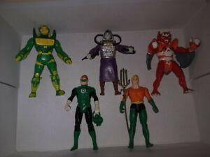 DC Super Powers Lot of 5 Vintage 1984-86 Kenner