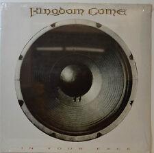 """KINGDOM COME - EN YOUR FACE - POLYDOR 839192-1 - 12"""" LP (Y546)"""
