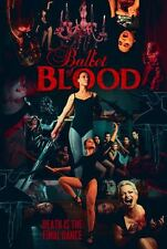 BALLET OF BLOOD WITH ALTERNATE COVER THAN SHOWN UNRATED USED VERY GOOD DVD