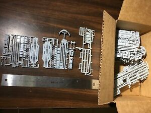 HO Scale Box of Gray Train Car Parts New Old Stock NOS $1 Lot #121