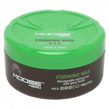 Moosehead Forming Wax: Medium hold with gloss finish, 100g, new MEN'S HAIR CARE