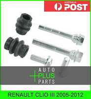 Fits RENAULT CLIO III 2005-2012 - Brake Caliper Slide Pin Brakes (Rear)