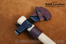 Cold Steel Trail Hawk Tomahawk Brown Leather Sheath Cover and Belt Carry Loop