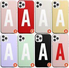 Custom Solid Colour Monogram Design Slim Phone Case for iPhone | Personalised Te