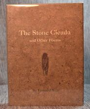 Stone Cicada & Other Poems Leonard Wolf Medusa 2001 INSCRIBED to Egon Dumley