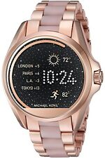 FACTORY SEALED Michael Kors Access Rose Gold Pink Two Tone Smartwatch MKT5013