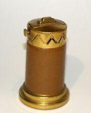 1928 elsa tennhardt art deco modernistic leather automatic vester desk lighter