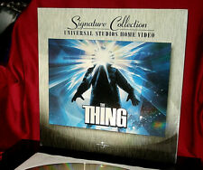 'THE THING' Signature Collection THX, AC3 Edition on Double Laser Disc, Mint!