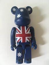 New listing Medicom Be@rbrick Blue Star Australia Flag Series 7 100% Bearbrick Figure 2003
