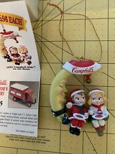 """Collectible Campbell's Ornament 1995 Campbell's """"Kids On The Moon"""""""