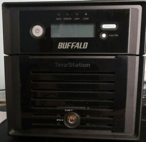 NAS Buffalo TeraStation 5200DSP 2 Go ram avec 2 disques durs WD Red 2 To
