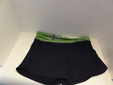 New Women's Seattle Sounders FC MLS Blue Green Lounge Shorts Size Medium