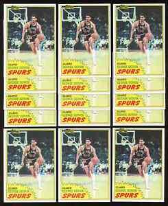 Lot of 15: 1981 Topps GEORGE GERVIN Basketball Cards #37 ~ NM-MT ~ HOF ICEMAN ~